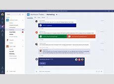 Microsoft Teams Redmond lanciert SlackKonkurrenten