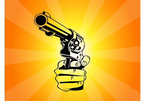 pointing gun vector   vector art stock graphics images