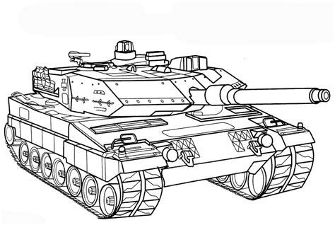 Vorlagen Zum Ausdrucken Ausmalbilder Panzer Malvorlagen 1