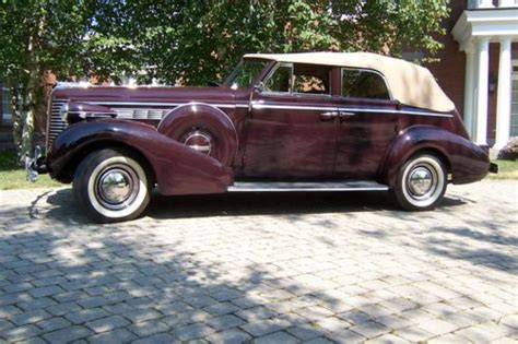 1938 Buick Century For Sale by Sell Used 1938 Buick Century Convertible Phaeton In