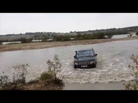 range rover  wading  korc youtube