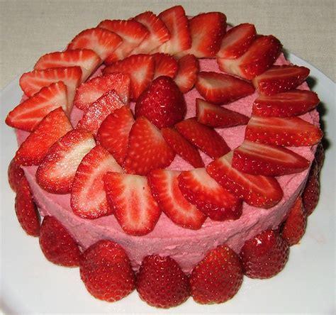 g 226 teau mousseux aux fraises ma cuisine sant 233