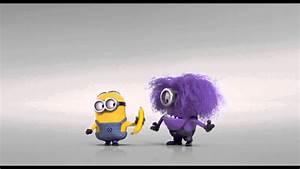 Evil Minion Wants Banana DESPICABLE ME 2 - YouTube