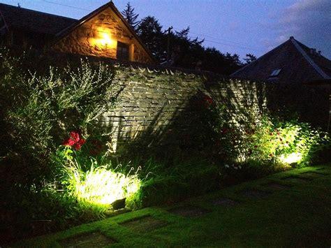 lighting garden new craigatin garden lights craigatin house pitlochry scotland