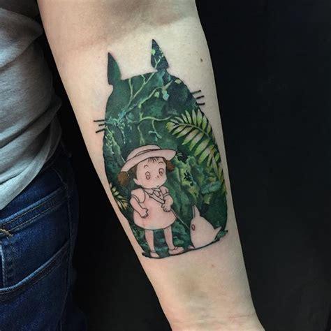 totoro tattoo  yury timko
