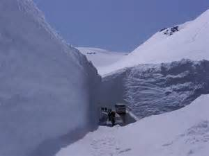 where in the world is this photo from snowbanks 40 feet tall can t be real snowbrains