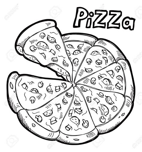 pizza clipart black and white best pizza clipart black and white 6416 clipartion