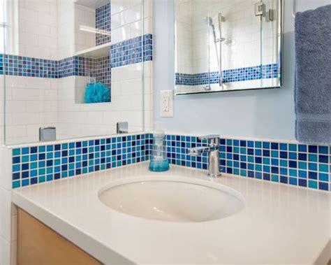 blue bathroom ceramic tile bath design ideas pictures