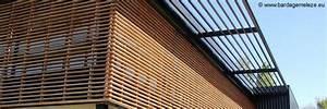 Bardage Bois Claire Voie : senatuolo la batie neuve constructeur brique ossature ~ Dailycaller-alerts.com Idées de Décoration