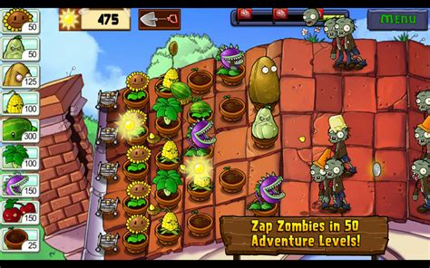 zombies plants vs