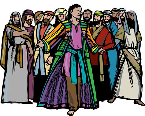 coat of many colors in the bible the blessing of joseph the layman s bible