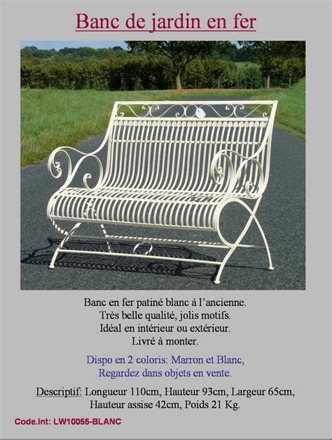 chaise fer forge banc fauteuil chaise de jardin en fer forgé d interieur d