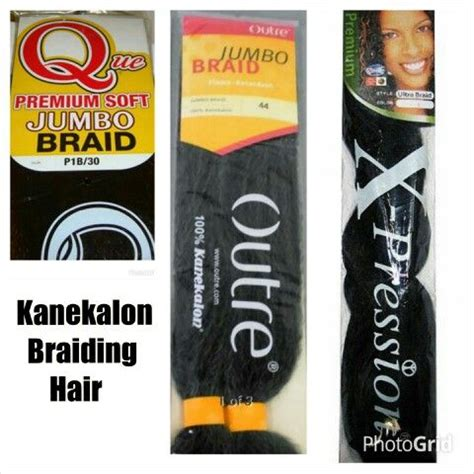 My Preferred And Most Often Used Brands Of Kanekalon Braid