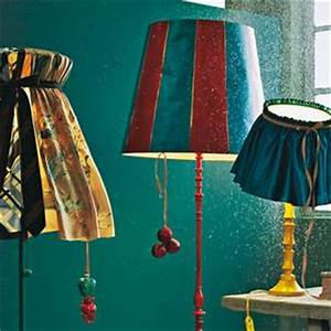 Lampenschirm Selber Machen Stoff : lampenschirm basteln mit r schen ~ Orissabook.com Haus und Dekorationen