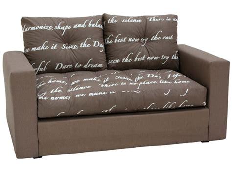 h et h canapé canape lit deplimousse ecriture chocolat