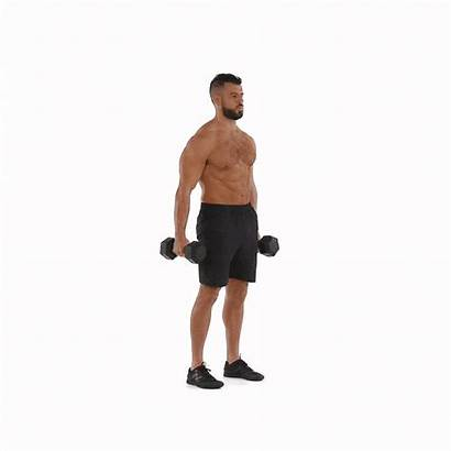 Deadlift Dumbbell Dumbbells Leg Straight Exercise Butt