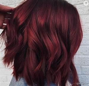 Couleur Cheveux Tendance : coloration tendance 2018 les cheveux vin chaud ~ Nature-et-papiers.com Idées de Décoration