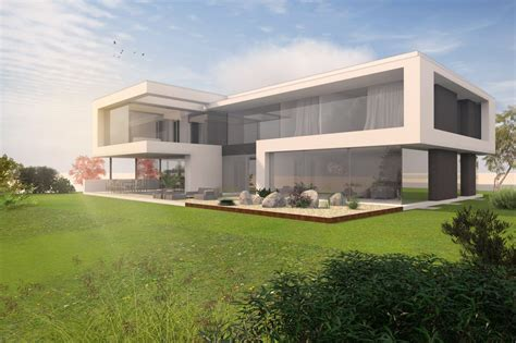 Moderne Häuser In Holzständerbauweise by Architekt Villa Modern Bauen Siegerentwurf Wettbewerb Im