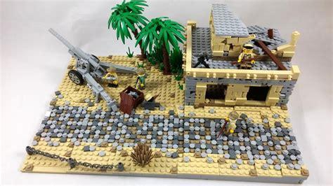 lego ww heavy artillery moc hd youtube