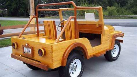wooden jeep plans 1960 wood cj 5ish jeep college station oh status