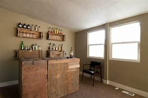 Bar Aus Holzpaletten : die bar zu hause eine moderne tradition nicht nur f r m nner ~ Sanjose-hotels-ca.com Haus und Dekorationen