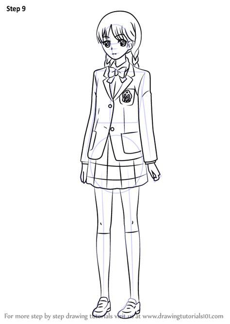 learn   draw izumiko suzuhara  red data girl red