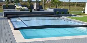 Abri De Terrasse Coulissant : terrasse en dur avec abri couv piscine dessous projet ~ Dode.kayakingforconservation.com Idées de Décoration