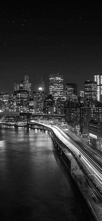 Dark Night Lights Wallpapers Nature Iphone Bridge