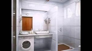 Kleines Bad Gestalten : kleines bad gestalten und dekorieren interessante waschmaschine youtube ~ Buech-reservation.com Haus und Dekorationen