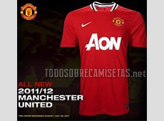 Manchester United Home Shirt for 201112 Season Official