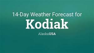 August Monthly Calendar 2020 Kodiak Alaska Usa 14 Day Weather Forecast