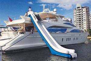 FunAir Adjustable Yacht Slide Supports Breast Cancer