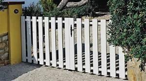 Portail 4m Pas Cher : portail blanc en pvc pas cher avec motorisation int gr e ~ Dailycaller-alerts.com Idées de Décoration