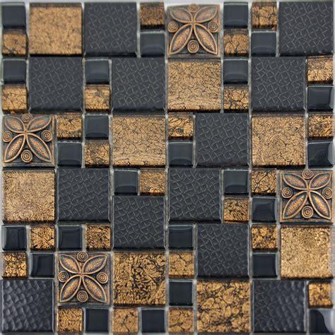 green kitchen tile backsplash black porcelain mosaic tile designs gold glass tiles