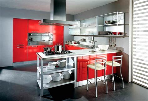 Red Kitchens : Red Kitchens
