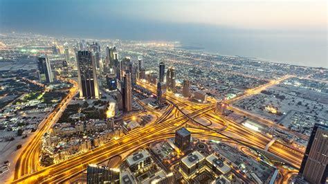 Urban, Lights, Anime, Cityscape, Road, Nature, United Arab