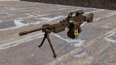 metralhadora hk mg leve  gta