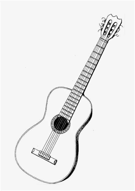 Imagenes De Instrumentos De Cuerda Para Colorear