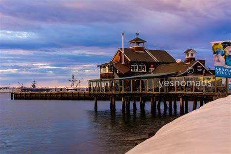 Photo The Week San Diego Pier Cafe Seaport Yesnomads
