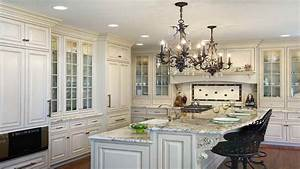 Antique Kitchen Island French Country Kitchen Ideas White