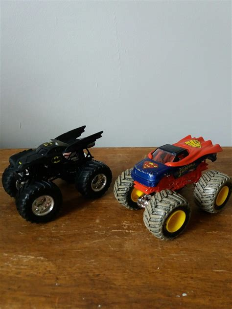 monster jam batman wheels monster jam trucks superman batman 7 50