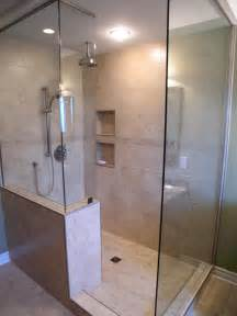 bathroom shower ideas walk in shower ideas remodeling contractor talk