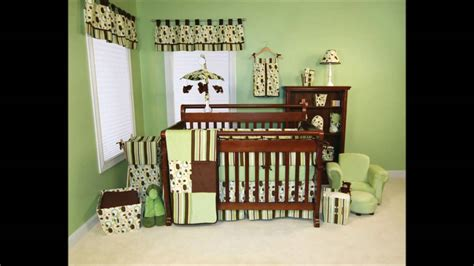 Neutral Colored Safari Themed Nursery Room Colorful Baby
