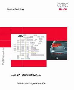 Vag Ssp 364  U2013 Audi Q7  U2013 Electrical System