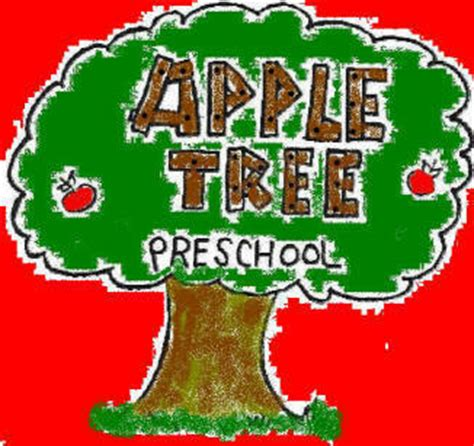 the apple tree pre school plainfield il day care center 588 | logo Tree 3
