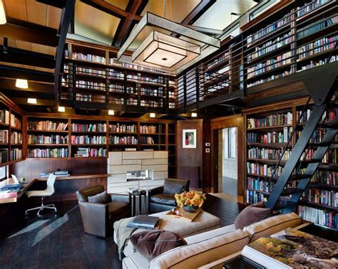 Best 20+ Home Library Design Ideas On Pinterest