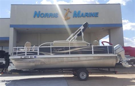 Used Voyager Pontoon Boats For Sale by Used Voyager Marine Pontoon Boats For Sale Boats