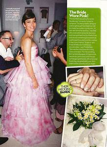 here39s jessica biel39s giambattista valli pink wedding With jessica biel wedding dress