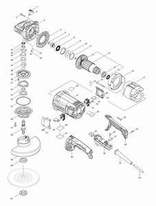 Buy Makita Ga7061 Angle Replacement Tool Parts