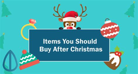 items you should buy after christmas